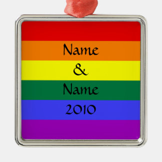 Customized Gay Pride Ornament