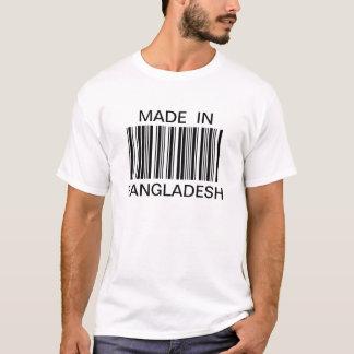 Customized Generic Bar Code Made In T-shirt