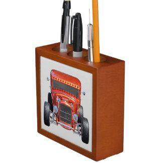 Customized Hot-rod Car Desk Organizer