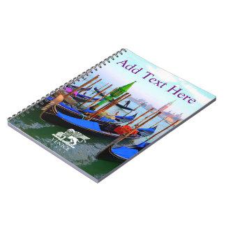 Customized Image of Gondola Station Note Book
