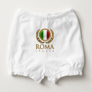 Customized Italian Bandiera Diaper Cover