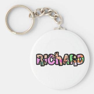 Customized key ring Richard
