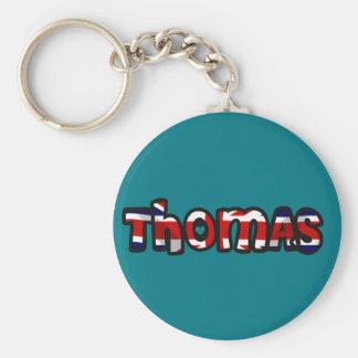 Customized key ring Thomas