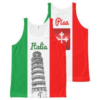 Customized Leaning Tower of Pisa and Pisan Cross