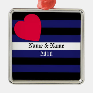 Customized Leather Pride Ornament
