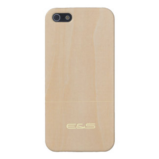 Customized Light Wood 3 iPhone 5/5S Covers