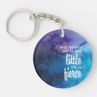 Customized Little Mighty Girl Keychain