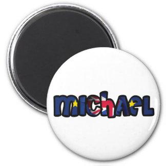 Customized magnet Michael