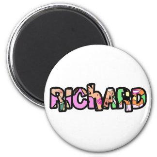 Customized magnet Richard