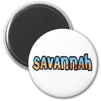Customized magnet Savannah