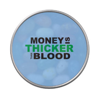 Customized Money is Thicker Than Blood Cooler