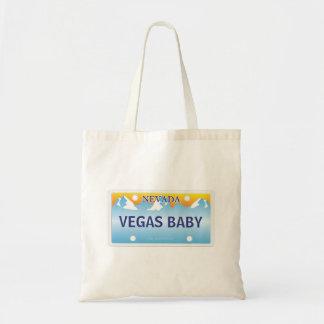 Customized Nevada  License Platev Tote Bag
