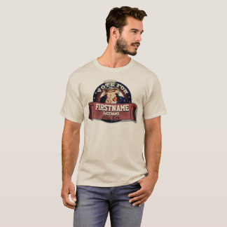 Customized Patriotic Uncle Sam T-Shirt