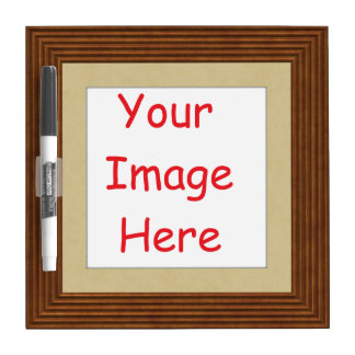 Customized personalized printed frame picture - dry erase board