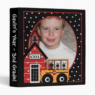 Customized Photo 3rd Grade Binder