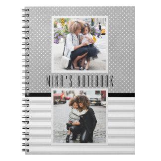 Customized Photo Template Journal/ Notebook