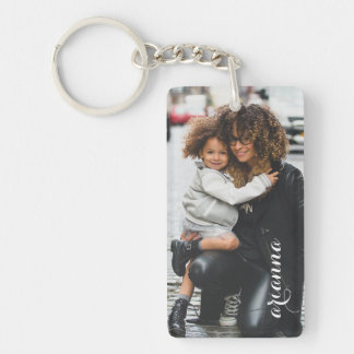Customized Photo Template Keychain