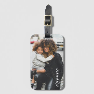 Customized Photo Template Luggage Tag