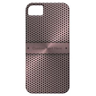 Customized Pink Metallic iPhone 5 Case