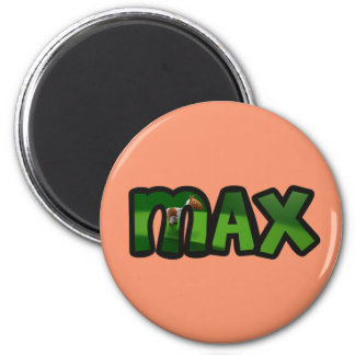 Customized plate Max Magnet