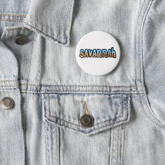 Customized plate Savannah 2 Inch Round Button