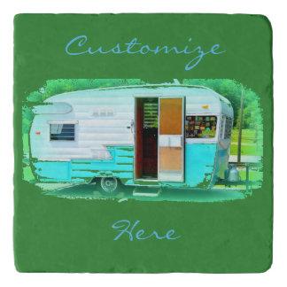 Customized Retro Vintage camper Trivet