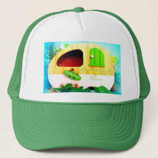 Customized Retro Vintage camper Trucker Hat