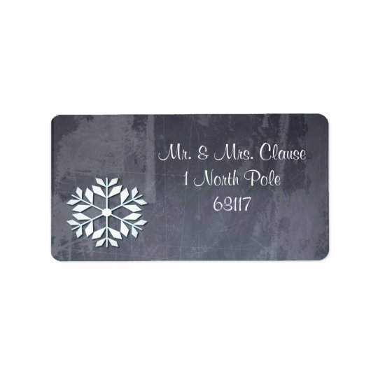 Customized Return Address Labels