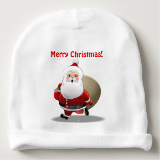 Customized Santa Claus Cartoon Baby Beanie