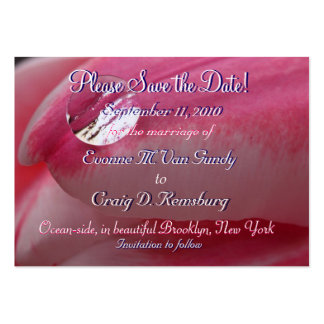 Customized Save The Date IV Business Card