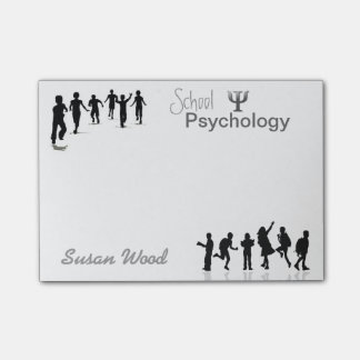 Customized School Psychology Post-it® Notes