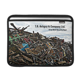 Customized Scrap Metal Recycling Business MacBook Sleeve