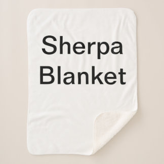 Customized Sherpa Blanket