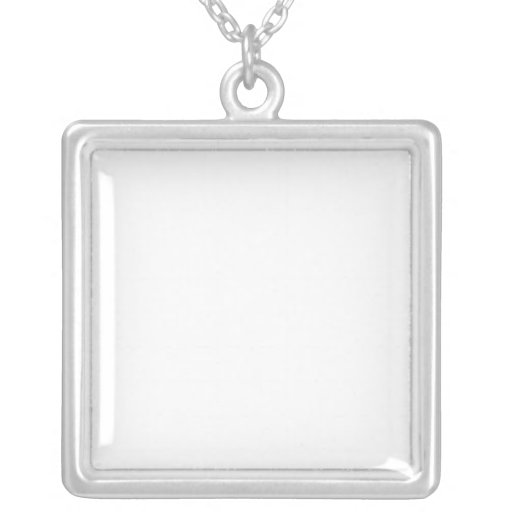 Customized Silver Plated Necklace