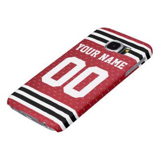 Customized Sports Hockey Jersey Samsung Galaxy S6 Cases
