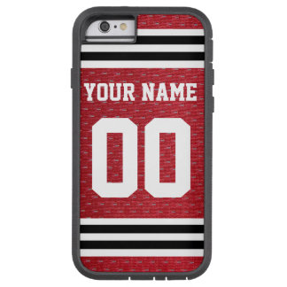 Customized Sports Hockey Jersey Tough Xtreme iPhone 6 Case