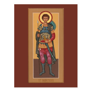 Customized St. Demetrius Prayer Card