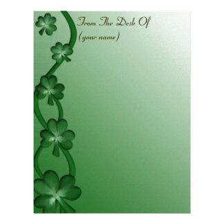 Customized St Patrick's Day Letterhead