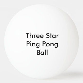 Customized Three Star Ping Pong Ball