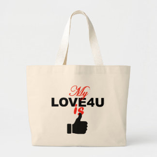 Customized Tote Handbag Of Love
