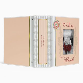 Customized Wedding/Anniversary/Special Occasion 3 Ring Binders