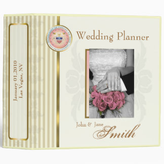 Customized Wedding/Anniversary/Special Occasion Vinyl Binders