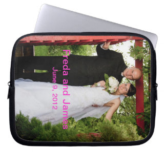 Customized Wedding Laptop Sleeve