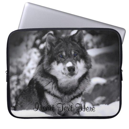 Customized Wolf Laptop Case