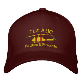 Customized Your Unit Vietnam UH1 Embroidered Hat