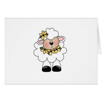 customlambflowers card