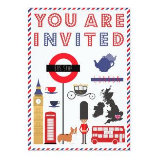 Custon Iconic London Trip Invitation