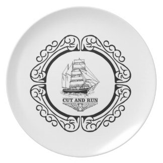 cut and run plate