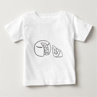 Cut  Block of Swiss Cheese Baby T-Shirt