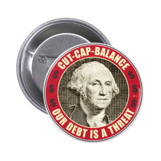 Cut Cap Balance 2 Inch Round Button